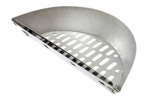 """Slow 'N Sear Stainless Steel Charcoal Basket for 18"""" Charcoal Grills from SnS Grills"""