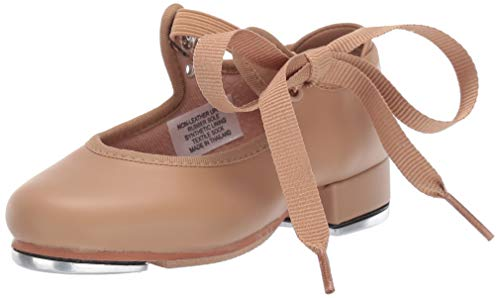 Bloch Girls Dance Annie Tyette Tap Shoe, Brown Tan, 10.5 N US