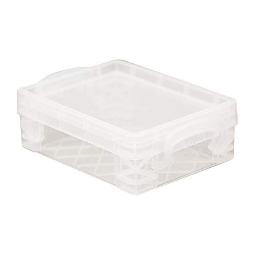 Super Stacker Crayon Box, 4.75 x 3.5 x 1.5 Inches, Clear, 1 Box (40311)