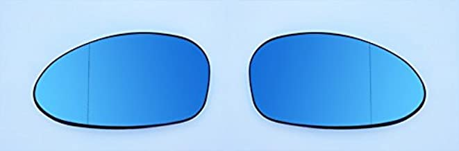 OriginalEuro Euro Wing Tinted Blue Heated Anti Blind Spot Mirror Glass for BMW E82 E88 E46 M3 E85 E90 E91 E92 E93 M