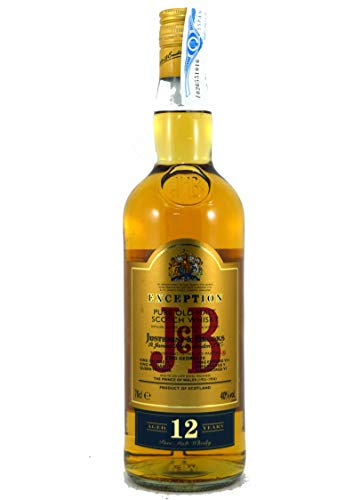 J & B Scotch Whisky 12 Years, 0,70 L