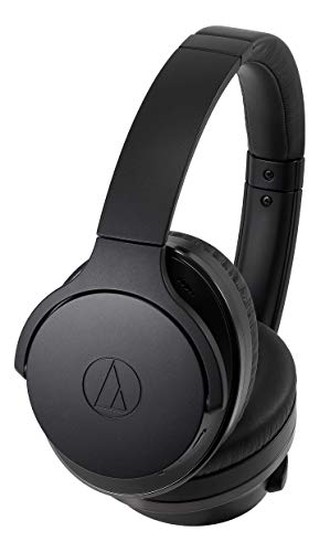 Audio-Technica ATH-ANC900BT QuietPoint Wireless Active Noise-Cancelling Headphones (Renewed)