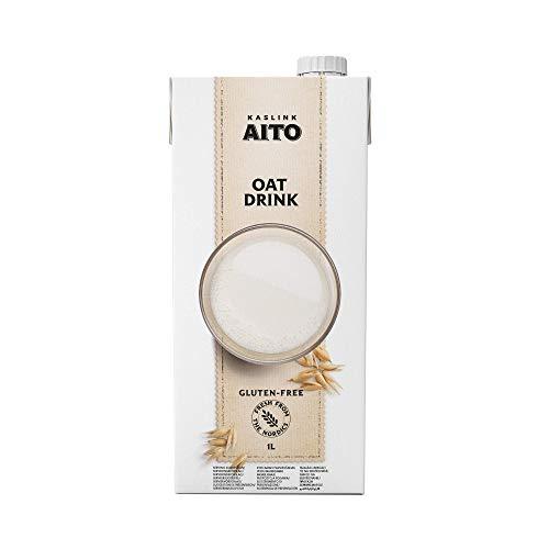 Aito Hafermilch Getränk vegan ungesüsst glutenfrei Hafer Drink 1L 8 Pack