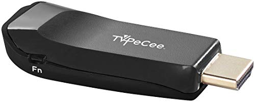 TVPeCee HDMI Adapter: WLAN-HDMI-Stick für Miracast, Mirroring, AirPlay, Chromecast und DLNA (HDMI TV Stick zum Streamen)