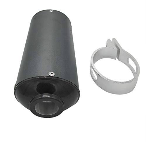 balikha 28mm Exhaust Silencer With Clamp Exhaust Pipe System For Motorcycles