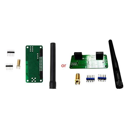Leiouser 1 Unidades UHF VHF UV MMDVM, placa de módulo Hotspot, soporte P25 DMR YSF 32Bit ARM procesador, para Raspberry Pi Zero 3B piezas de reparación