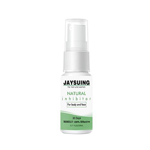 JAYSUING Spray Haarwachstum Unterdrückung, Painless Haarentfernung Spray, Haar Hemmer 20ml