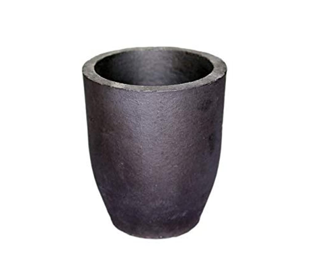 #5 Clay Graphite Crucible Foundry Cup Furnace Torch Melting Casting Refining Gold Silver Copper Brass Aluminum Lead Zinc and Alloys