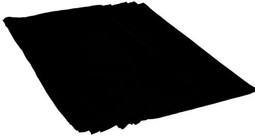 Nydel 340458 Eclipse Serviette Noir 45 x 45 x 0,2 cm