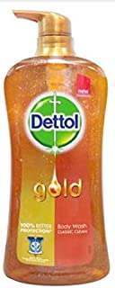 Dettol Gold Classic Clean Body Wash 950ml-Protects Against Everyday Germs-Inedible Body Wash