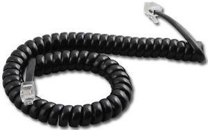Avaya/Lucent Partner 9 Ft. Black Handset Cord for MLS-6, MLS-12, MLS-12D, MLS-18D, MLS-34D Phones -  Partner-Handset-Cord
