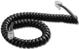 Curly Cable 9pies Negro