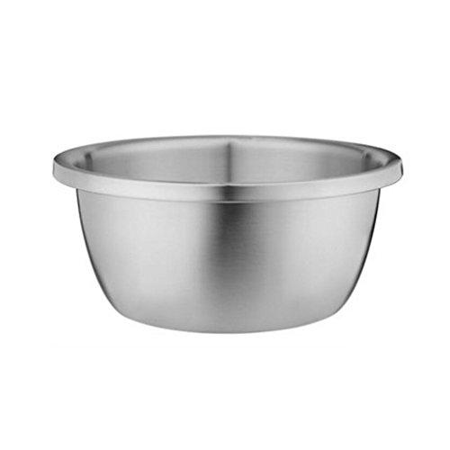 Bassin de soupe MXJ61 Bassin en Acier Inoxydable 304 Accueil Plus épais Deepen Wash Vegetables Pots Pots Ronds (Taille : 20cm)