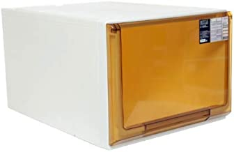 Citylife G-5116 BRW BEEGE 44L Single Tier Modular Drawer, 40 * 55 * 30.5cm, Brown