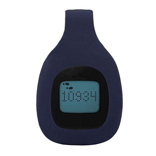 TOMALL Ersatz-Clip für Fitbit Zip Fitness Trackers Sport BH Clip Navyblau Silikon Halter Zubehör