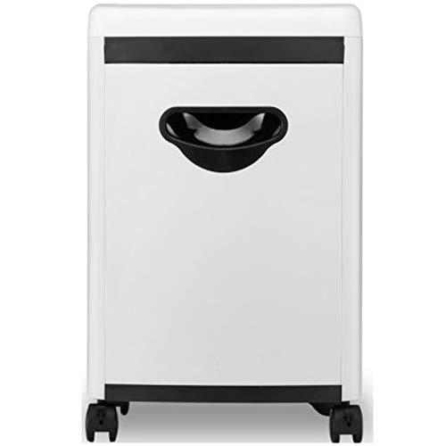 Trituradora de papel para el hogar de oficina, ligera, compacta, trituradora de papel de alta velocidad, alta seguridad, con sistema silencioso, capacidad de 18 litros