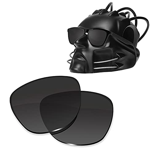 ToughAsNails Reemplazo de lente polarizada para Oakley Frogskins XS OJ9006 Sunglass - Más opciones, Negro, Talla única