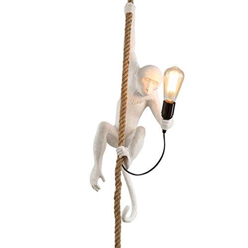 CHUANGJIE creatieve kroonluchter wandlamp creatieve persoonlijke bar restaurant kinderen kleur lampen touw AFFE A