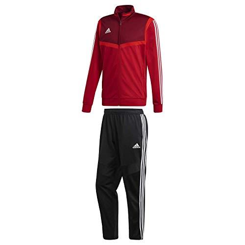 adidas Herren Polyesteranzug TIRO 19 Power red/White S