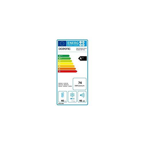 OCEANIC radiatore termoelettrico 2 in 1 caldo / freddo 50 litri 12/24 / 230V - Khaki Cypres