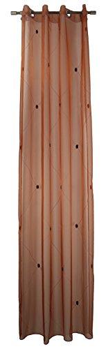 Pierre Cardin Vorhang, Orange, 245 x 140 cm