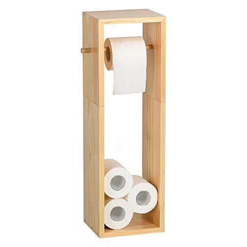 HAITRAL Toilettenpapierhalter, Holz Toilettenpapierhalter