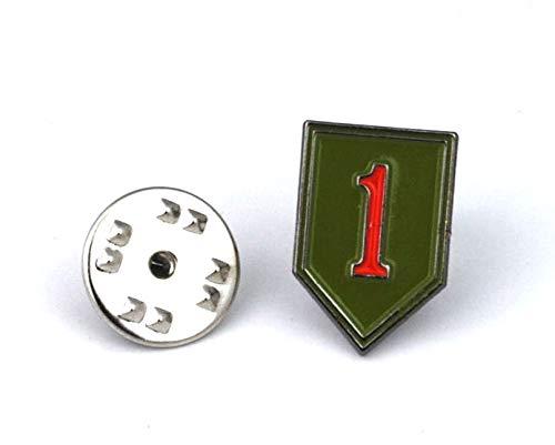 Gemelolandia Pin de Traje Primera Division Americana de Infanteria 1st US Infantry...