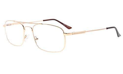 Eyekepper hombres mujeres memoria titanio gafas de lectura f