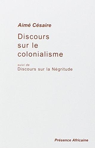 Prejav o kolonializme, po ktorom bude nasledovať: Prejav o negritude