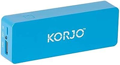 Korjo International Power Adapter, 4.4 Centimeters, Blue