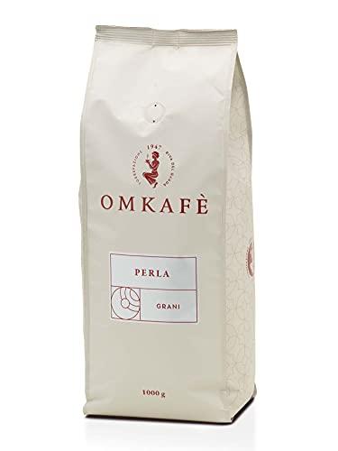 Neu Omkafe Perla Kaffeebohnen | Kaffeegenuss wie in Italien | italienische Familienrösterei, Gewicht:12x 1 KG
