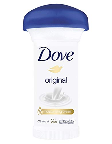 Dove Stick Femme Original Crème 48H Anti-Transpirant Format 50ml (lot de 3)