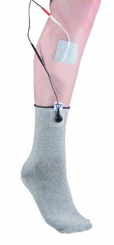 Stimulationssocke * TENS EMS Elektroden Socke * Textilelektrode * Größe Universal