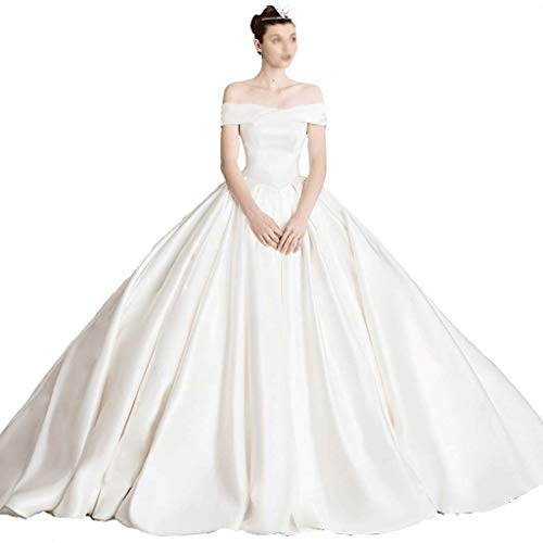 Bruiloft Retro Strapless Geplooid Lange Bruidsjurk Satijn Prinses Jurk Rok Trompet Party Rijk Taille Lange Avondjurk