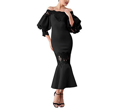 DESIRE DESTINATION Party Jurk Vrouwen Vestidos Verano Flare Mouw Kant Hollow Out Clubwears Off-Shoulder Jurk
