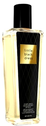 1a AVON 42275 parfümiertes Deodorant-Spray LITTLE BLACK DRESS --- 75 ml --- Parfümiertes Deo Körperspray - eleganter Glasflakon