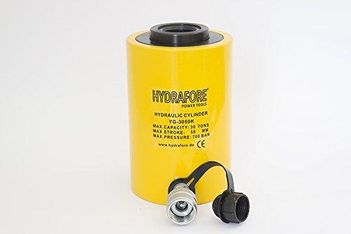 HYDRAFORE Einzelwirkender Hohlzylinder (30 Ton, 50 mm)