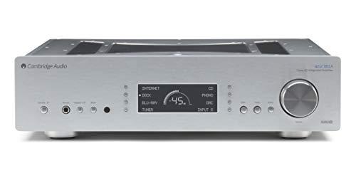 Cambridge Audio 851ASilver - Amplificador híbrido, plateado