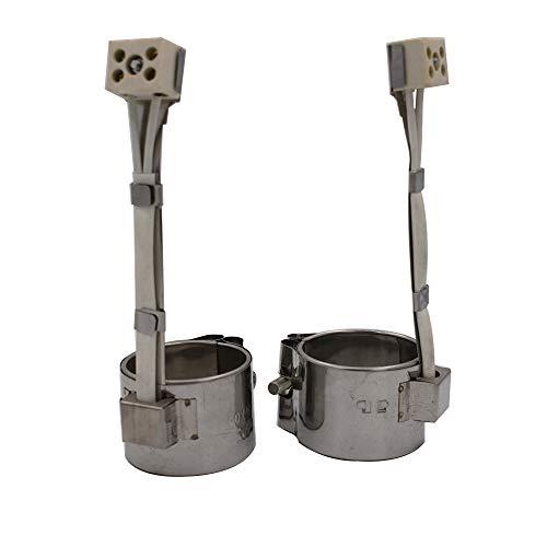 FINE MEN 4pcs 38 mm Diámetro Interior Mica Banda calefactora 38x30 / 38x35 / 38x38 / 38x40mm 30/35/38/40 mm Altura 220 de inyección...