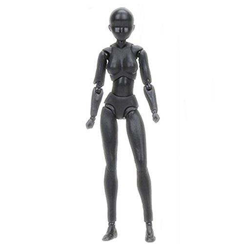 Free Ship Deal Körper Kun - Action-Figur Model für Künstler | Menschliche Mannequin Action-Figur Modell-Set mit Zubehör-Kit zur Skizzierung, Malen, Zeichnen, Bildender Künstler