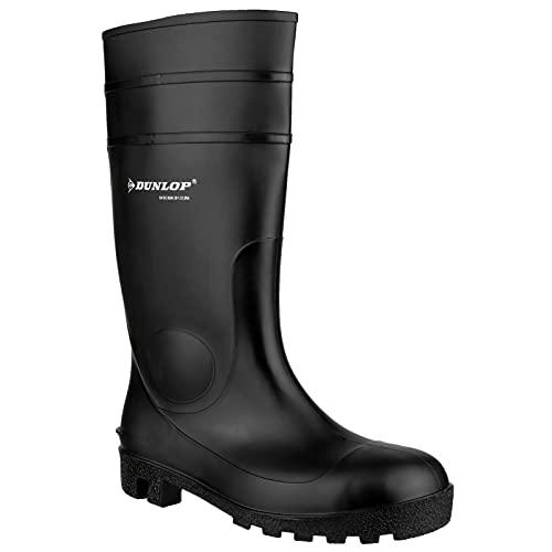 Dunlop Protective Footwear Protomastor full safety Unisex-Erwachsene Gummistiefel, Schwarz, 44 EU