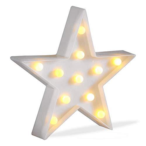 Prosperveil - Lámpara de mesa LED con forma de carpa decorativa con pilas, funciona con pilas, para dormitorio de niños, cumpleaños, Navidad, decoración