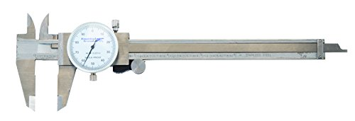 Frankford Arsenal Stainless Steel Dial Caliper with Case for Reloading