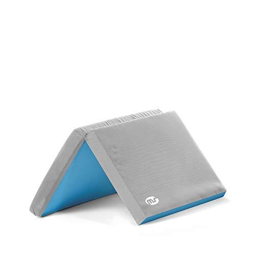 Innovaciones MS - Materasso da box per bambini, grigio, 88 x 88 cm, 320