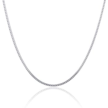 316L Stainless Steel 2.5 MM Box Chain 18 Inch