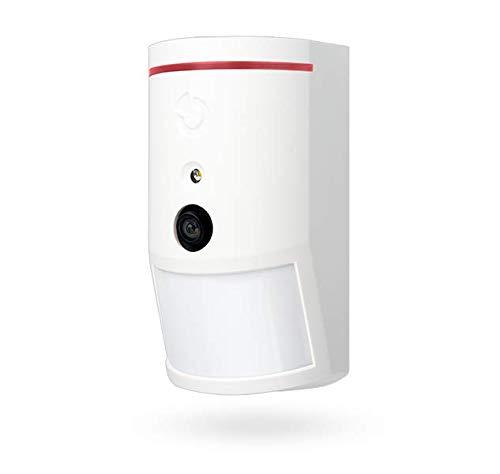 Jablotron JA-160PC (90) Detector de movimiento PIR inalámbrico con cámara con verificación de fotos a 90°