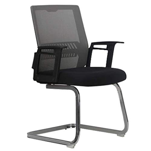 Office Chair with Arms and Back Support Executive Adjustable Computer Chair Swivel Ergonomic Desk Chair Comfy Padded for Office/Home/Bedroom (Color : B)