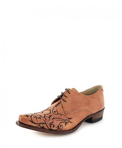 Sendra Boots 7650 Snowbut MS 064 Chaussures à lacets pour homme et femme Marron - Beige - Siena., 45 EU