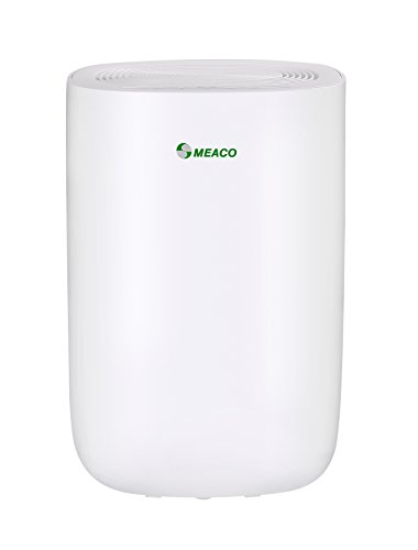 Meaco MeacoDry 10LW Luftentfeuchter, 160 W, 240 V, Weiß, 10L