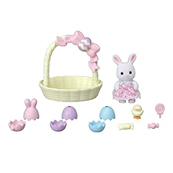 Calico Critters Hoppin Easter Set Limited Edition Dollhouse Playset with Figure and Accessories
